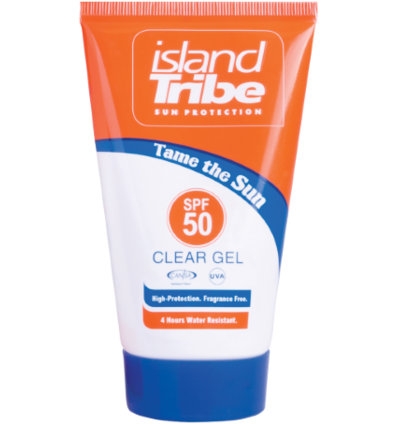 Island Tribe SPF 50 Clear Gel Tube