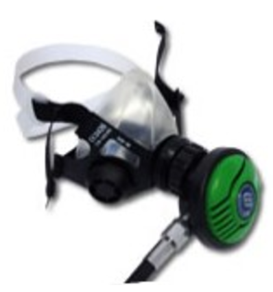 Sanosub On-demand oxygen regulator with On-demand mask and hose