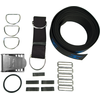 Halcyon Secure Harness webbing kit, includes stainless steel hardware